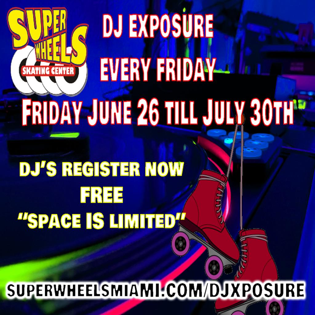 dj exposure concert super wheels miami